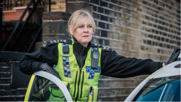 Sarah Lancashire as Sgt. Catherine Cawood in BBC & Red Productions Co series 'Happy Valley'