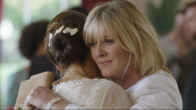 Sarah Lancashire (Caroline) and Nicola Walker (Gillian). Last Tango in Halifax. © Sally Wainwright, Red Production Co., BBC.